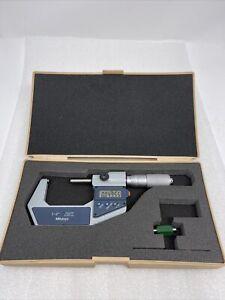 Mitutoyo Digital Micrometer 1-2'', 293-726-30 0.001mm .00005'', Excellent