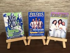 More details for the bee gees retro posters 3 piece jumbo fridge magnet gift set
