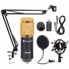 Bm800 Condenser Microphone Kit Studio Suspension Boom Scissor Arm Sound Card AU