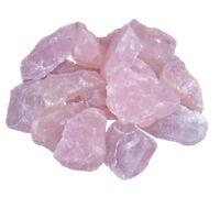 Rosenquarz 1 kg Wassersteine Rohsteine Steinewasser Edelsteine Heilstein