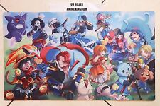 Custom Yugioh Playmat Play Mat Large Mouse Pad One Piece Luffy #628