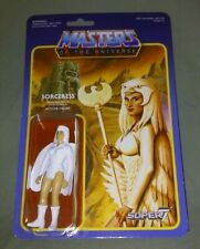 """Masters Of The Universe SORCERESS Temple Of Darkness Super 7 Reaction 3.75"""" MOC"""