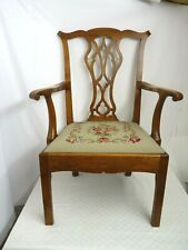 Vintage Occasional Chair - Tapestry upholstery | Thames Hospice
