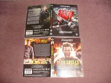 Bear Grylls Escape From Hell 3 Disc DVD & Breaking Point 2 Disc DVD MINT