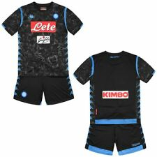 Kappa Completo set Bambino Ragazzo KOMBAT KIT NAPOLI Calcio sport CNA