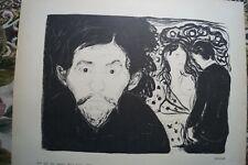 1916 Kunstdruck Edvard Munch Expressionismus