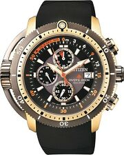 Citizen Promaster BJ2124-14E Solar Aqualand Chronograph 200m Divers Watch.
