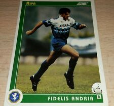 CARD SCORE 1993 FIDELIS ANDRIA RIPA CALCIO FOOTBALL SOCCER ALBUM