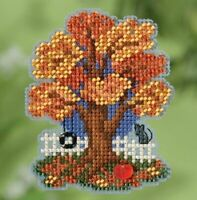 Mill Hill - Autumn Harvest - Fall Tree - Cross Stitch Kit - MH18-1824
