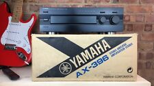 YAMAHA NATURAL SOUND AX-396 Integrated Amplifier. Boxed. 99p NR