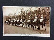 Vintage Postcard: Military RP #M218: Life Guards In The Mall: Raphael Tucks