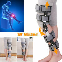 Inspired Breg Telescopic Post Op ROM Leg Hinged Knee Brace Adjustable Universal