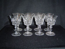 Baccarat Buckingham Pattern 8 Port Wines