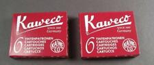 KAWECO Cartuchos 2 paquetes tinta rojo NUEVO #