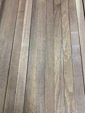 "Beautiful! 12 Boards Of  Black Walnut Lumber Dried Size: 3/4""x 2""x 18"" DIY Wood"