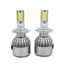 Car H7 COB LED Headlight 6000K 72W 7600LM Light Bulb headlight White Bright Lamp