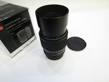 NEW LEICA APO MACRO ELMARIT R 100MM F2.8 MACRO ART 11352