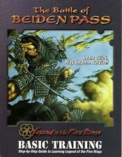 L5R - Legend of the Five Rings CCG - Battle of Beiden Pass (LTP Box 1996) !