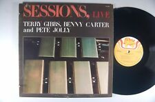 SESSIONS LIVE JAZZ LP CALLIOPE CAL 3020 Orig. Inner Sleeve TERRY GIBBS Mint