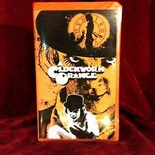A Clockwork Orange VHS Tape + Custom Artwork Clamshell Case Big Box
