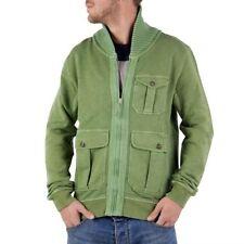 Sudaderas de hombre en color principal verde 100% algodón