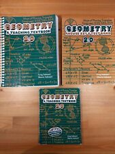 Teaching Textbooks Geometry 2.0 - Auto Grading CD's, Answer/tests, Textbook