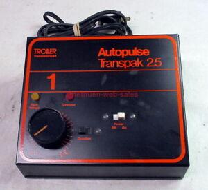 Troller Model 3000~Autopulse~Transpak 2.5~Power Pack/Transformer~0-15VDC + 15VAC