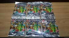 Lego Minifigures Series 20 -  6 Sealed Packets 71027 Brand New And Unopened