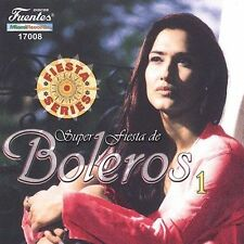 Various Artists : Super Fiesta De Boleros 1 CD
