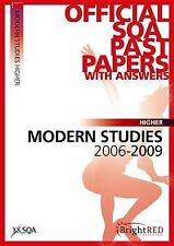 Modern Studies SQA Past Papers: 2007 - 2011by SQA (Paperback)