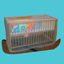 ASMi® Mückennetz, Moskitonetz für Babybetten Baby Bett Fliegen Insektenschutz