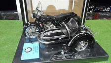 Moto BMW R60-2 + Side Car noir 1960 au 1/10 TOOTSIETOY 3304 miniature collection