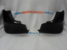 MAZDA 3 2010-2013 SEDAN AND HATCHBACK NEW OEM FRONT SPLASH GUARDS