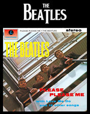 "The Beatles Please Please Me 14 x 11"" Photo Print"