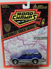ROAD CHAMPS - CHEVROLET BLAZER - BLUE - 1/43rd SCALE - BLISTER CARDED