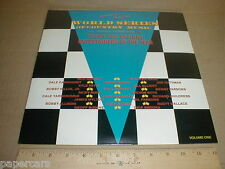 1985 Dale Earnhardt Sr Nascar drivers singing Music Stock Car Racing New 2LP set
