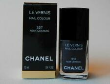 CHANEL Le Vernis Nail Polish 337 NOIR CERAMIC (New with Box)