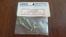 Vintage rc10 NIP 6281 7/8 8-32 flathead aluminum screws