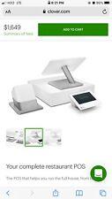 Clover Pos System, tablet, printer, key pad