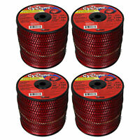 """Cyclone CY105S3 .105"""" x 2760 Ft Commercial Grass Weed String Trimmer Edger Line"""