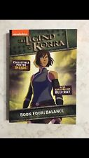 THE LEGEND OF KORRA - BOOK FOUR: BALANCE DVD - AUTHENTIC US RELEASE
