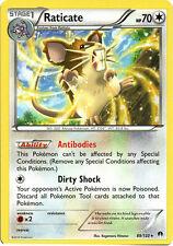 x4 Raticate - 88/122 - Rare Pokemon XY Breakpoint M/NM English