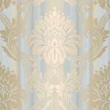 CS35603 - Classic Silks 3 Damask Beige Blue Galerie Wallpaper