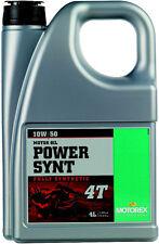 MOTOREX POWER SYNTHETIC 4T 10W50 (4 LITERS) 110452