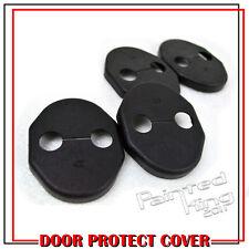 Protective Door Striker Lock Cover Trims for Mitsubishi Lancer 4DR 5DR 07-16