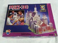 Bavarian Castle PUZZ 3-D Puzzle 1000pc Wrebbit P3D-801 STTS Unused NOS