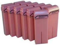 12 ROLL-ON (CARTOUCHE)  100ML CIRE TIÈDE ROSE POUR EPILATION (NON MADE IN CHINA)