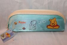 NEW WITH TAG WINNIE THE POOH  BABY BLUE PENCIL CASE