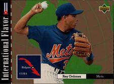 Upper Deck 94 #110 - New York Mets - International Flavor - Cuba - Rey Ordonez