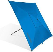 CleverMade QuadraBrella - Portable 5' Outdoor Beach Umbrella For Sun Shade an.